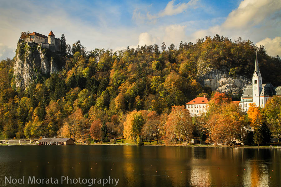 Fall time in Lake Bled
