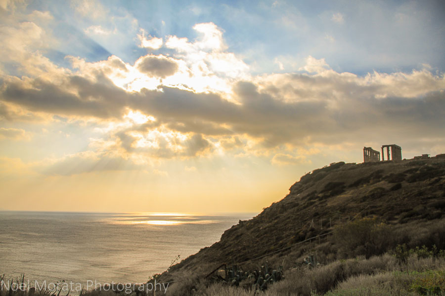 Cape Sounion and the temple of Poseidon