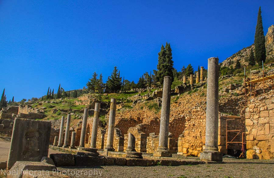 The main entry to the Oracles of Delphi