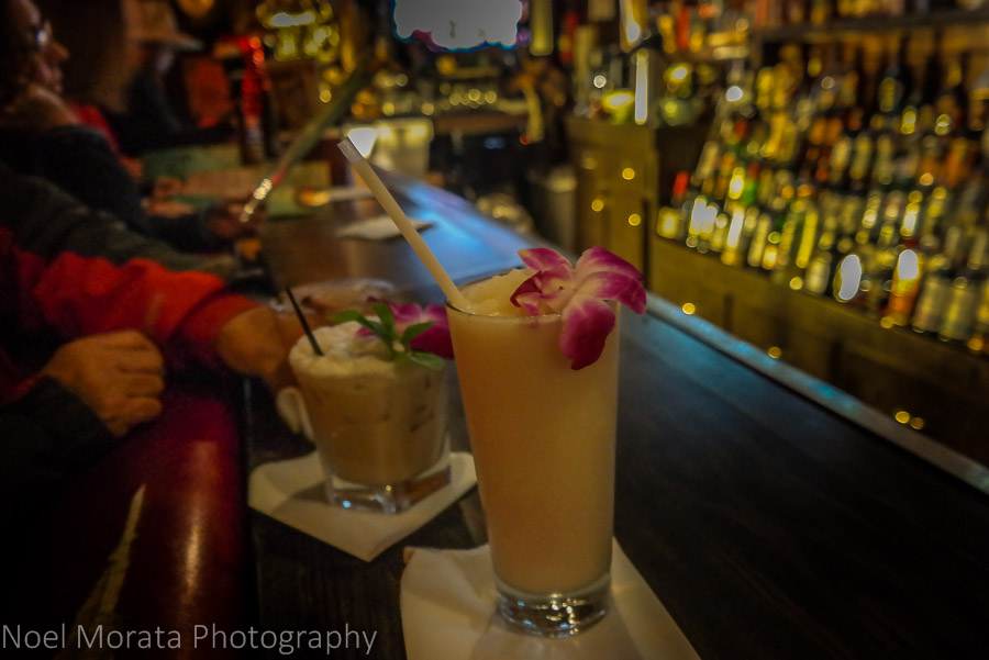 These drinks pack a tropical punch at Forbidden Island