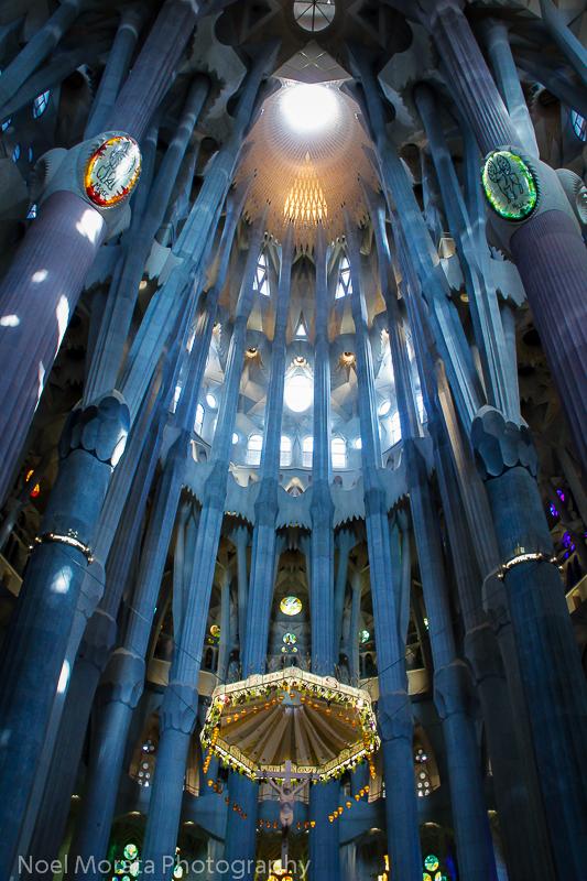 Sagrada-Familia interior
