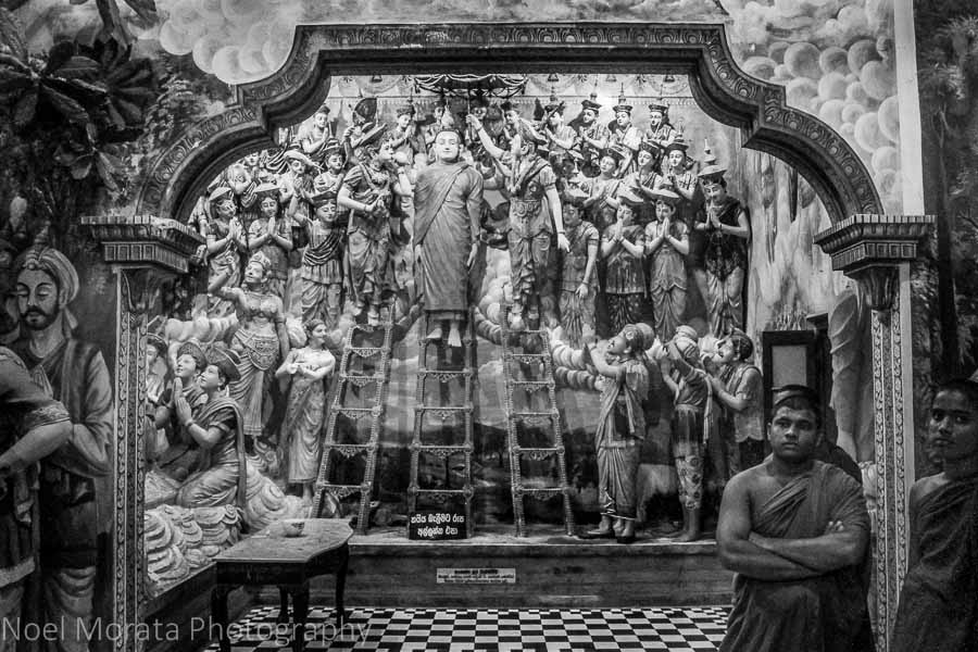 The oldest buddhist temple in Negombo