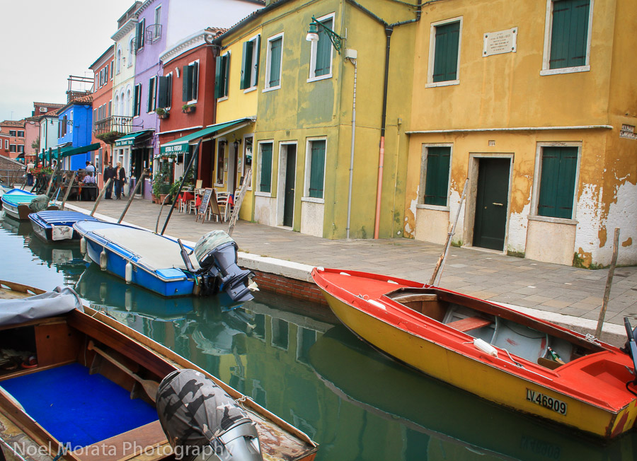 Getting lost in Burano Island in Venice
