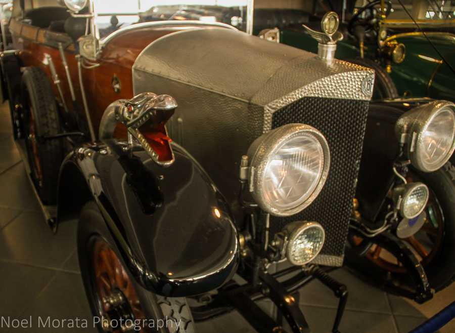 Vintage Mercedes Benz at Museo Nicolis at  Verona
