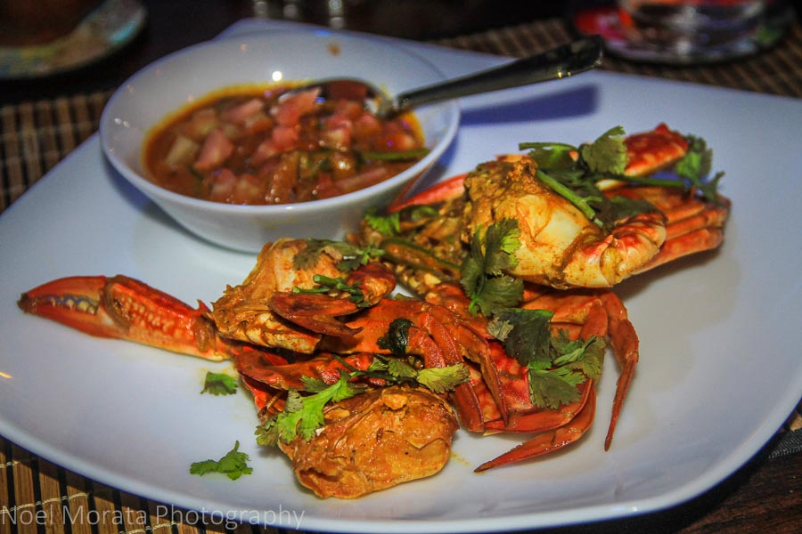 Spicy Sri Lankan Crab curry