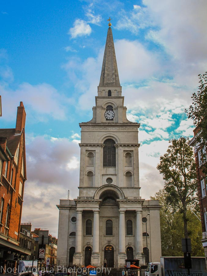Christ Church at Spitafields market