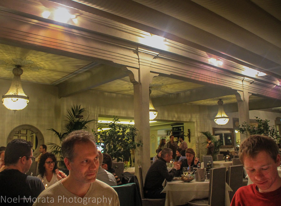 Fine dining at Peschiera del Garda