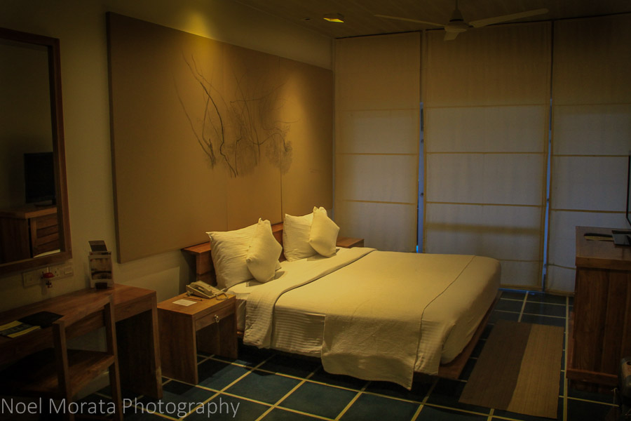 Plush bedrooms at Jetwing Blue in Negombo