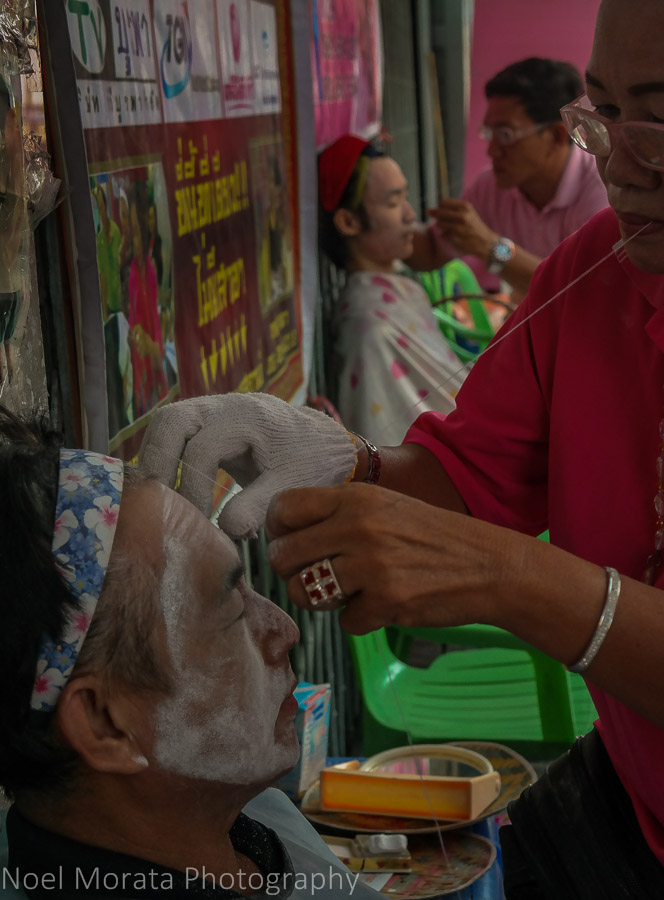 Hair beauty treatment at Chinatown, Bangkok