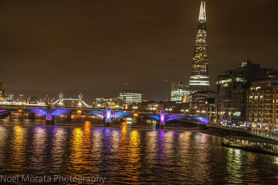 Discovering London at night time