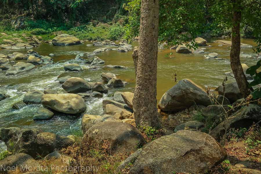 Mae Taeng river in northern Chiang Mai region, Thailand
