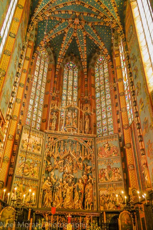 Krakow, Poland - a first impression tour - St. Mary' Basilica
