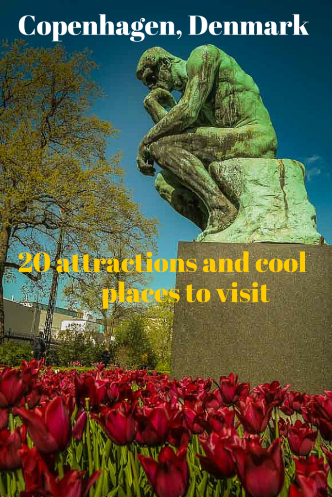 20 attractions and cool in Copenhagen
