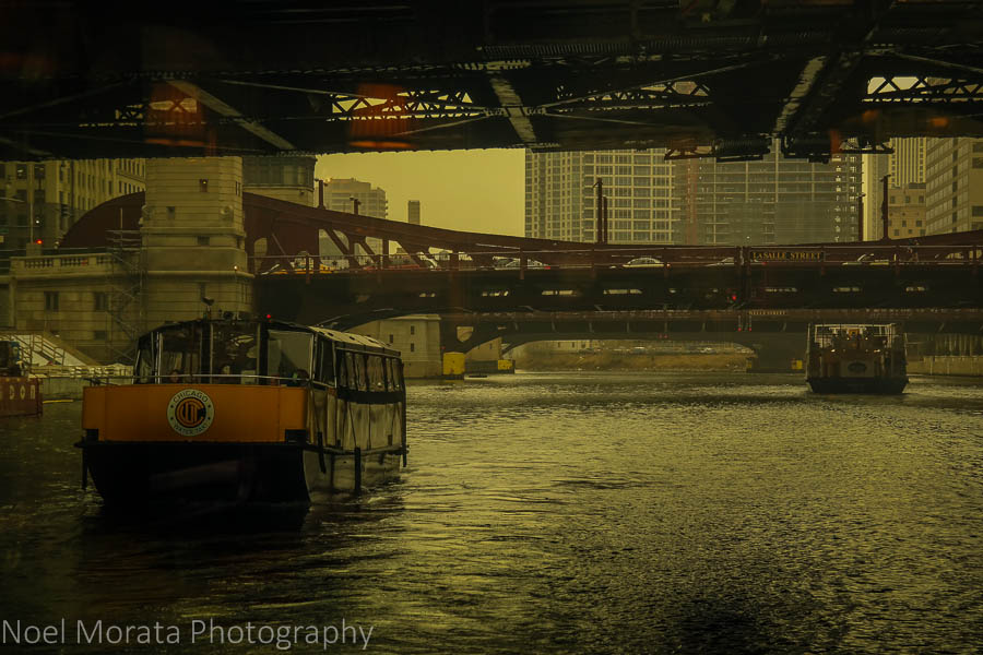 Water taxi service- Chicago river cruise