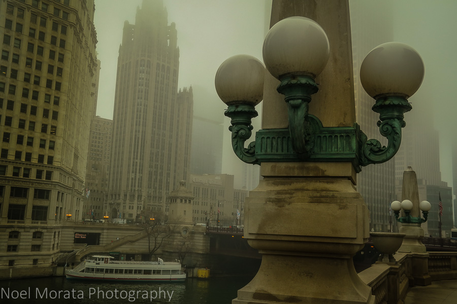 Michigan Avenue Bridge at Wacker Drive