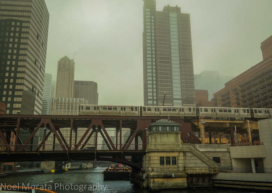Mass transport and bridges at Chicago