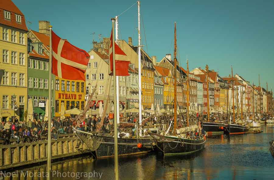 A first impression of Copenhagen, Denmark