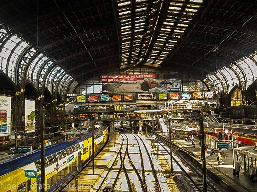 Hamburg's main train station
