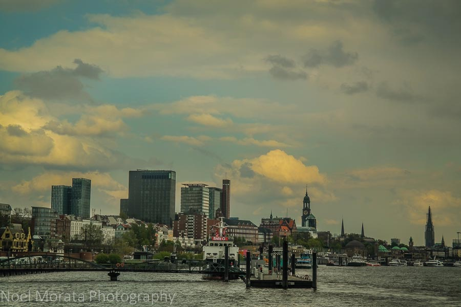 Hamburg port and central district - A first Impression of Hamburg, Germany