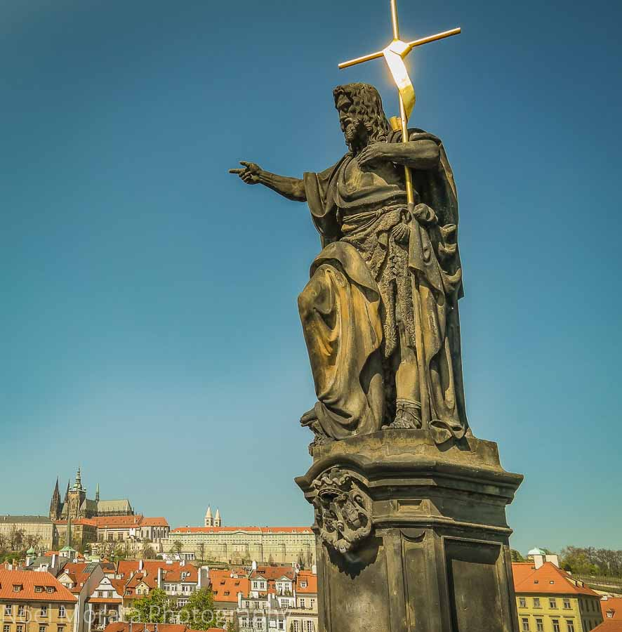 Statues on the St. Charles Bridge, Prague