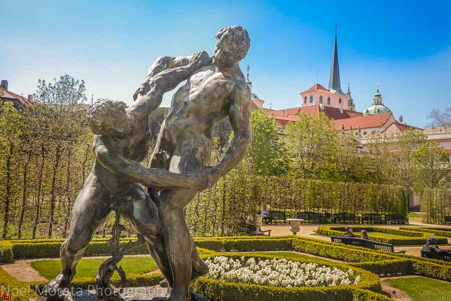 Wallenstein Palace, gardens and salla terrena in Prague