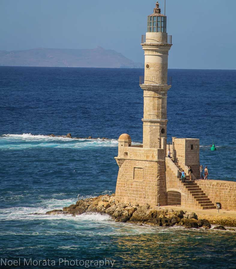 Chania harbor lighthouse - Exploring Chania, Crete