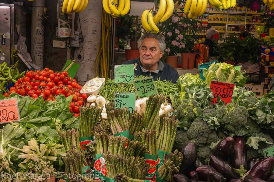Visiting Genoa and the market - Mercato Orientale