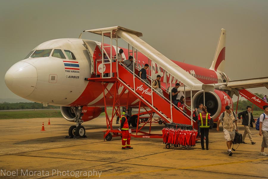 Flying regionally in Thailand - Thailand travel - 10 tips and suggestions