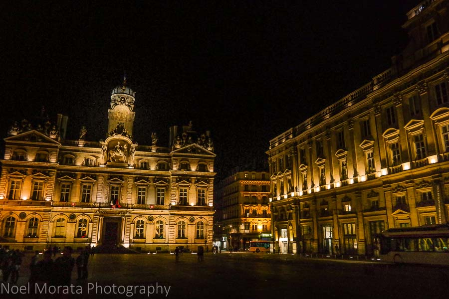 Lyon City Hall and Place des Terreaux