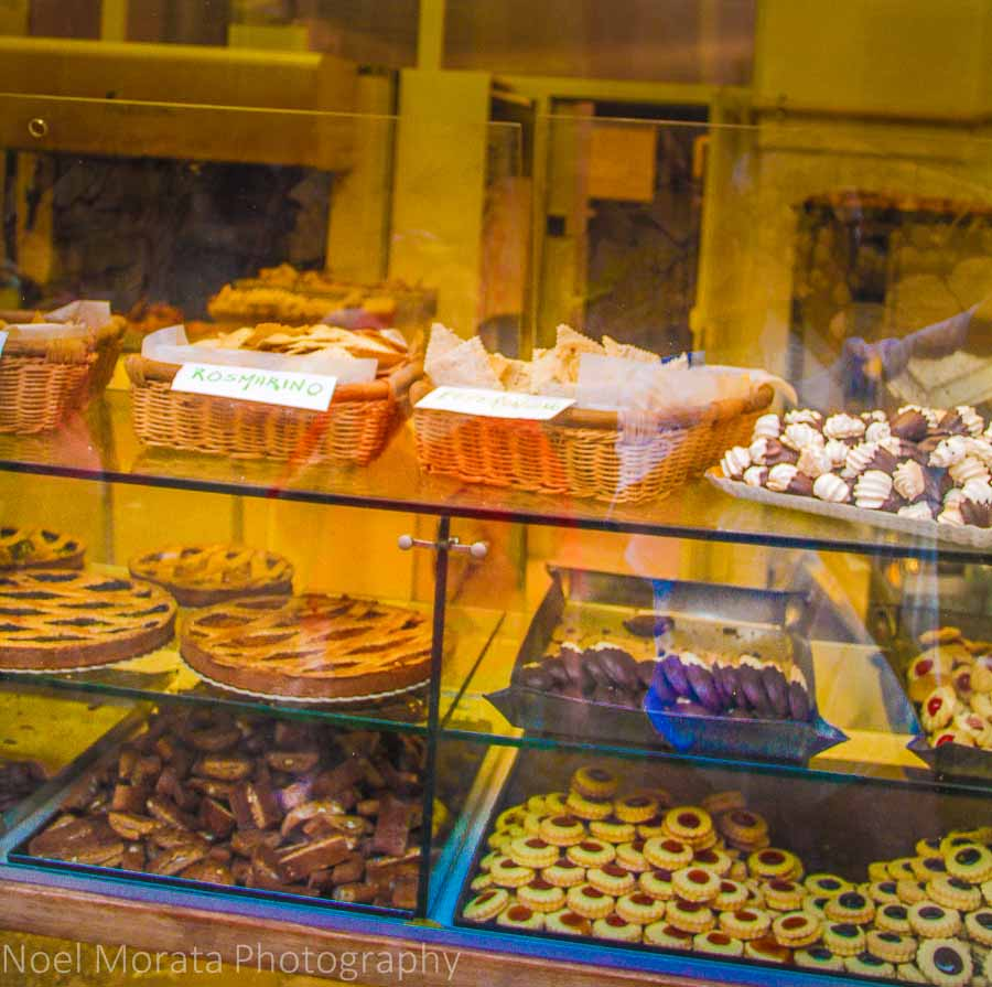 Innocenti in Trastevere; tasting specialty and local foods