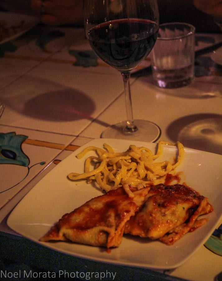 Three course pasta meal at Osteria der Belli in Trastevere