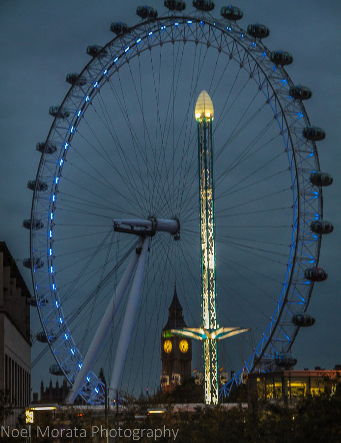 The London Eye - Cool attractions to explore in South bank, London