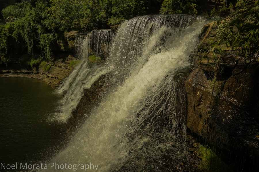 Close up views at Chagrin Falls, Ohio