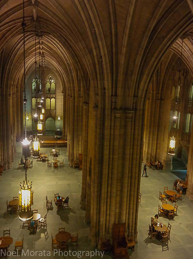 Interior of the Cathedral of Learning, PIttsburgh