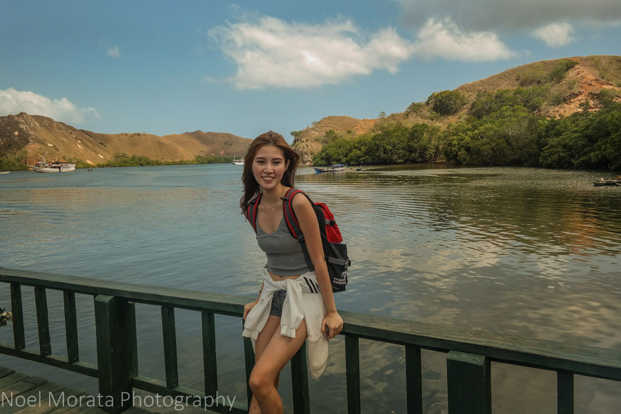 Waiting for the Rinca Island tour to start - Visiting Komodo National Park