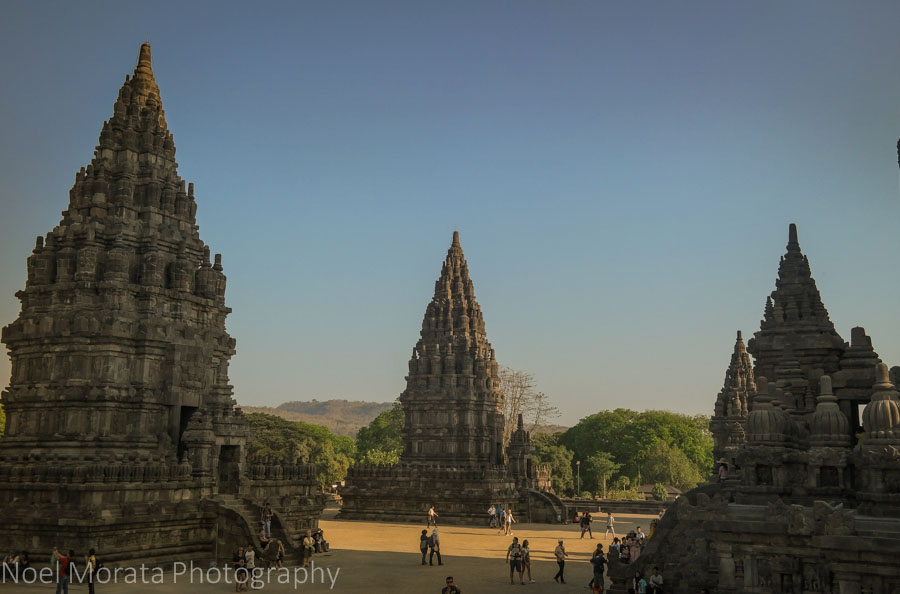Travel photo postcard – Prambanan Temple, Indonesia