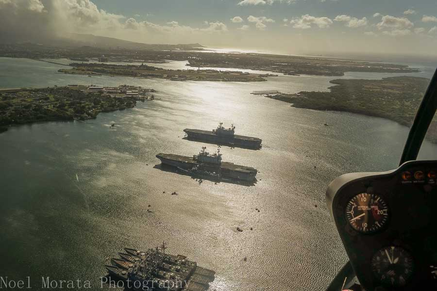 Pearl Harbor decommissioned warships, Oahu