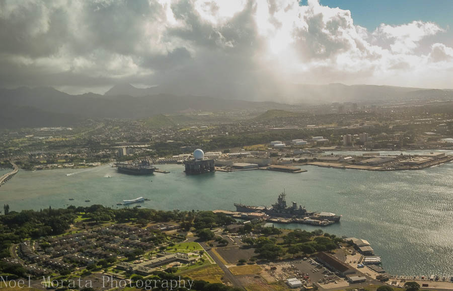 Pearl Harbor - A morning helicopter