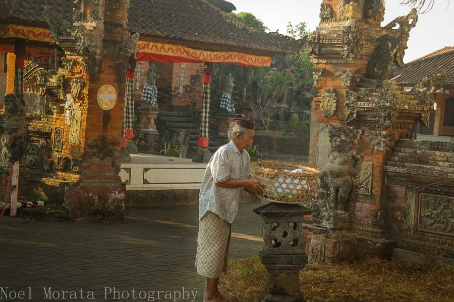 A local palace in the Tabanan region of Bali