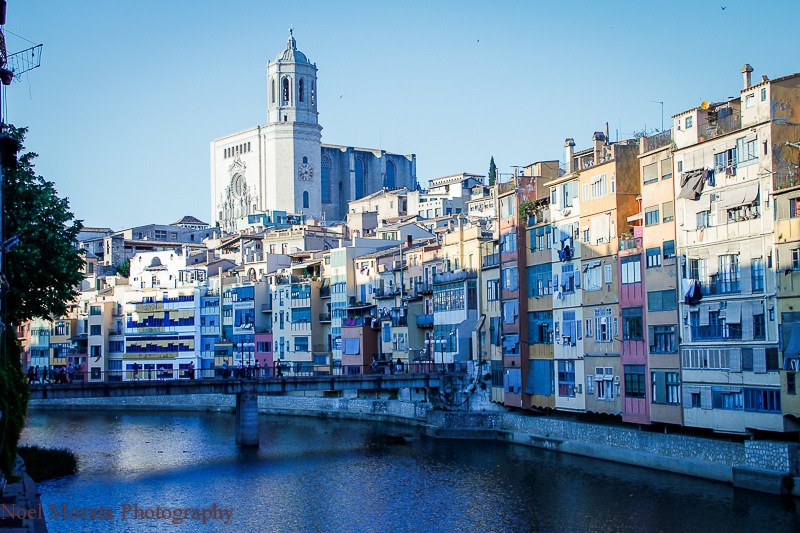 Girona Spain, river view