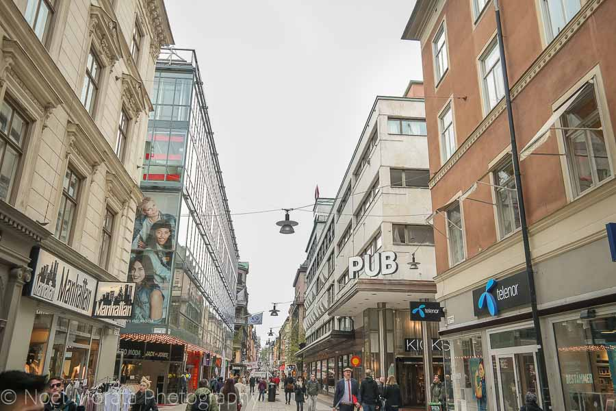 Shoppiing at Drottninggatan - Top 20 things to do in Stockholm, Sweden