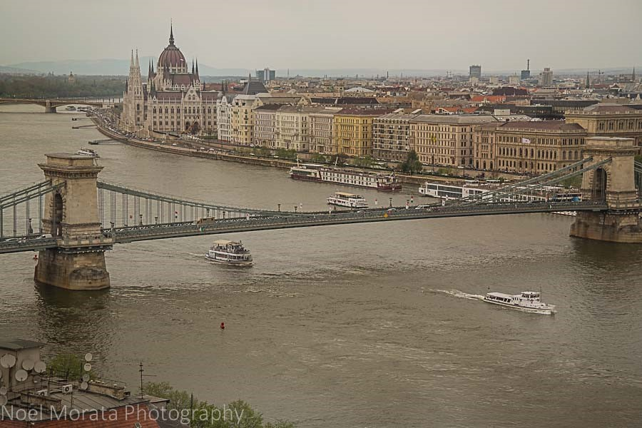 Budapest river view - European destinations for your bucket list