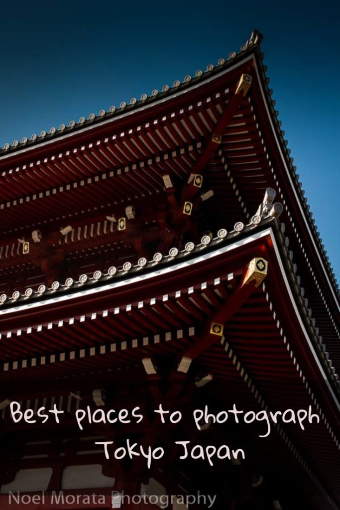 Best places to photograph Tokyo