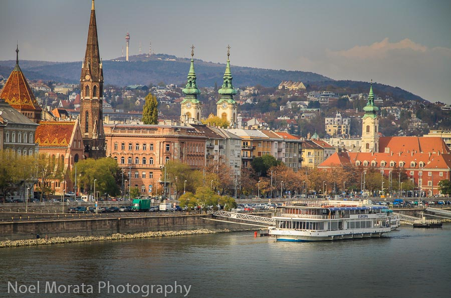Danube river promenade - Best places to photograph Budapest, Hungary