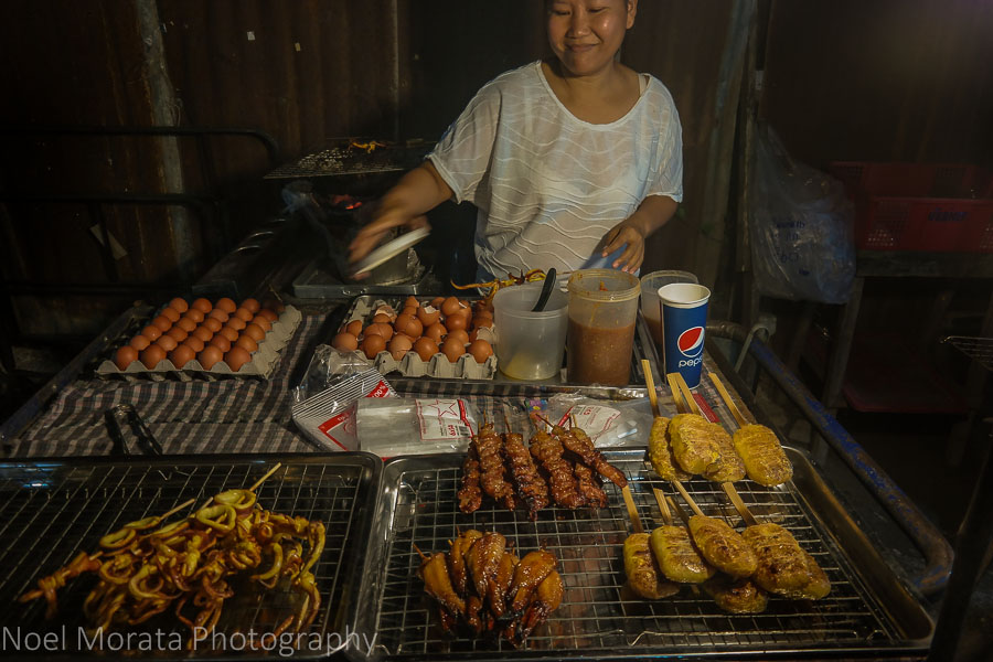 Street foods in Chiang Mai - Top food destinations around the world