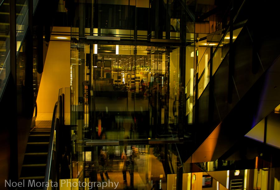 Designer shops at Omotesando in Tokyo - Best places to photograph Tokyo Japan