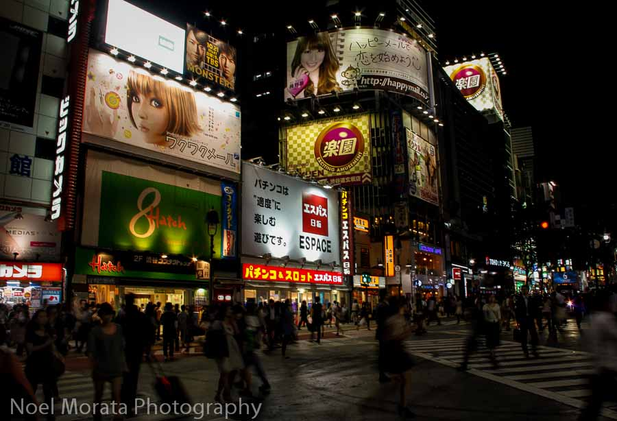 Center Gai in the Shibuya - Best places to photograph Tokyo Japan