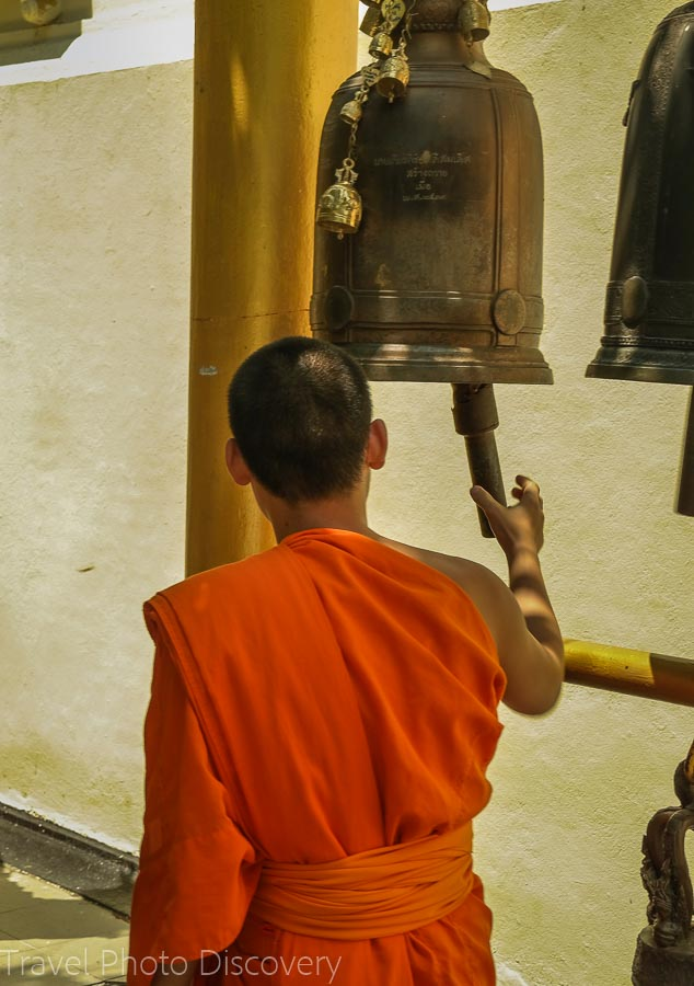 Prayer bells Visiting Wat Phra That Doi Suthep