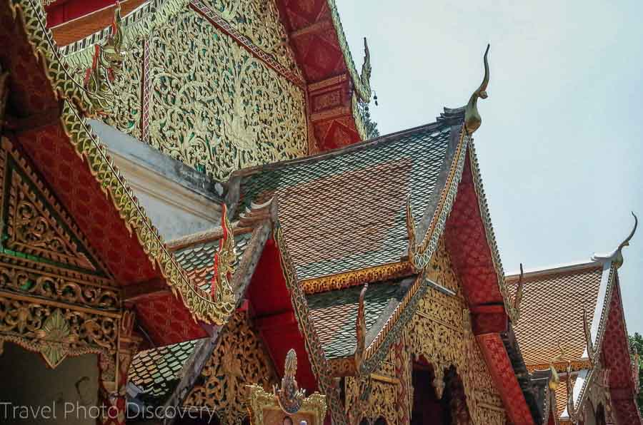 Inner temple compound at Wat Phra That Doi Suthep