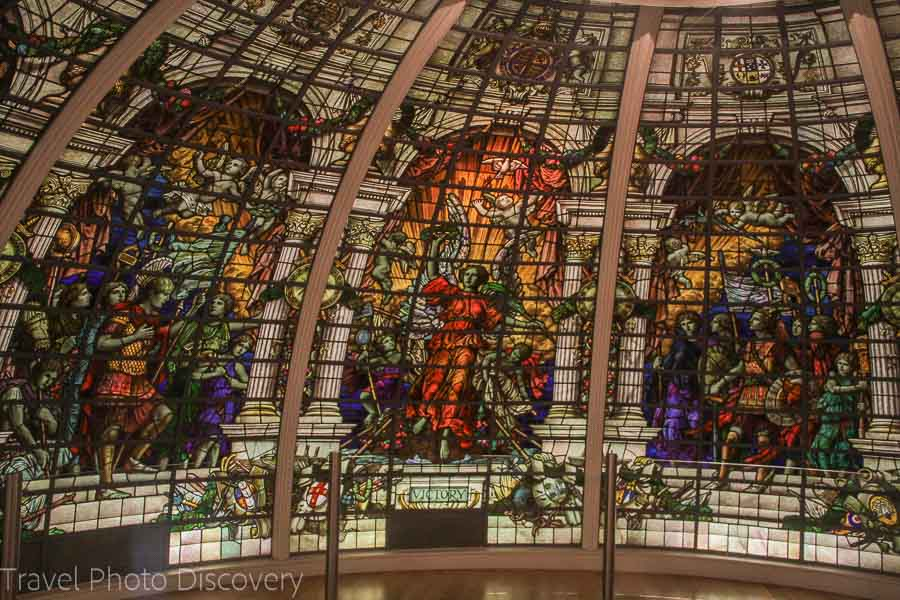 Ship stained glass National Maritime Museum Things to do in Greenwich London